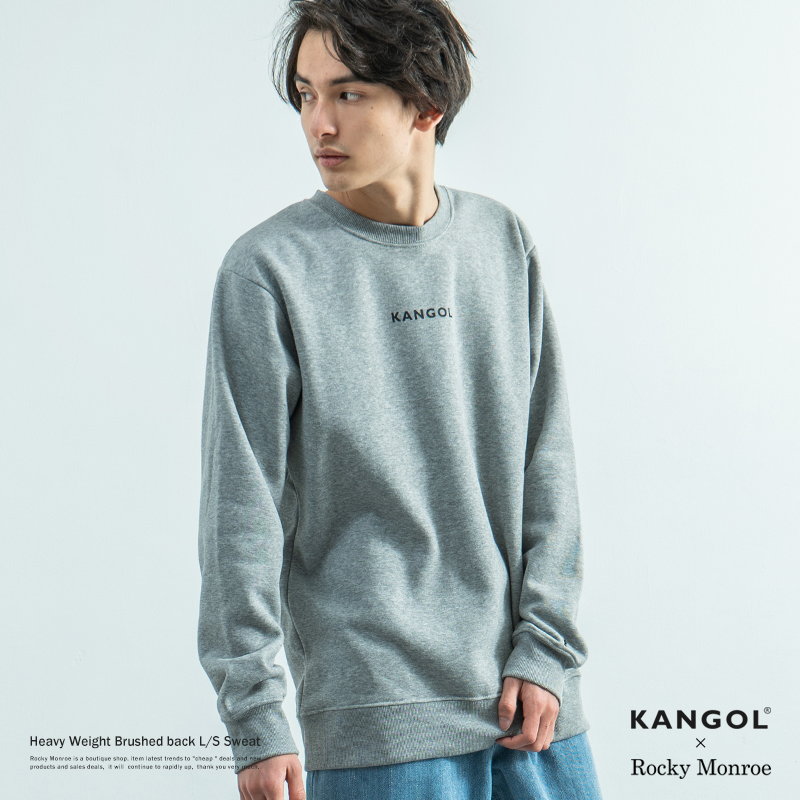 KANGOL×Rocky monroe別注 ヘビーウエイトスウェット◆8579