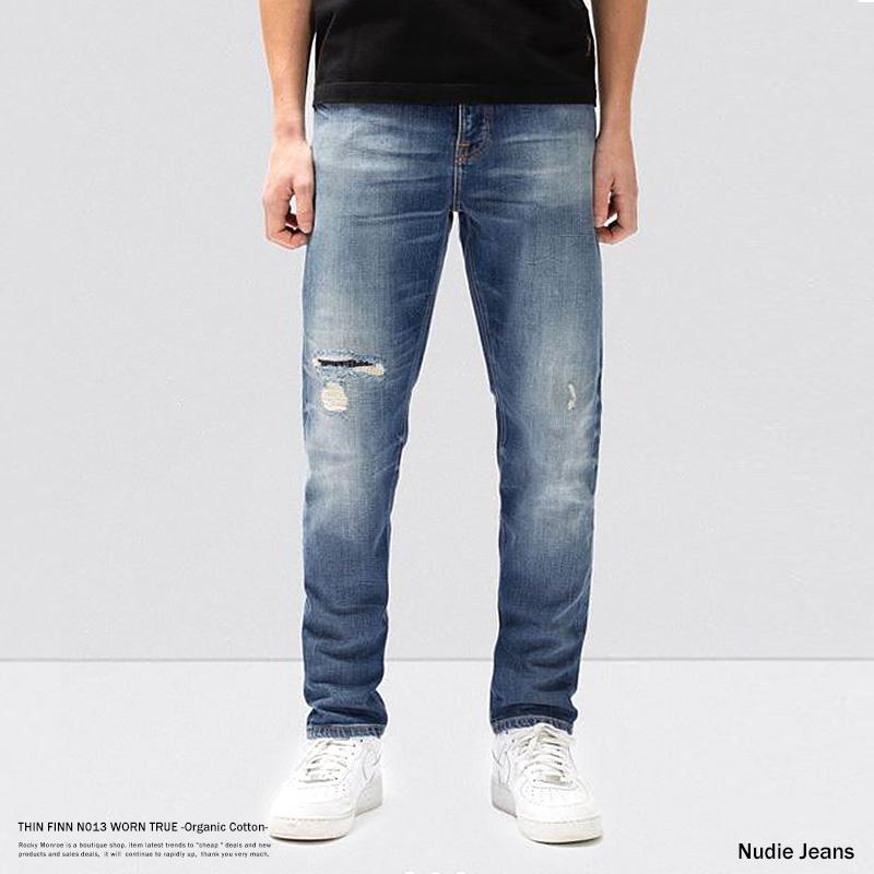 【送料無料】【Nudie Jeans/ヌーディージーンズ】THIN FINN N013 WORN TRUE◆8765