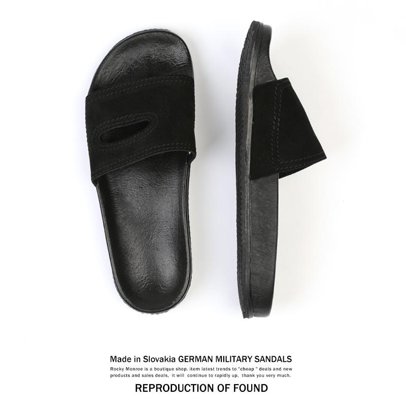 【送料無料】【REPRODUCTION OF FOUND】ジャーマンミリタリーシャワーサンダル◆8829