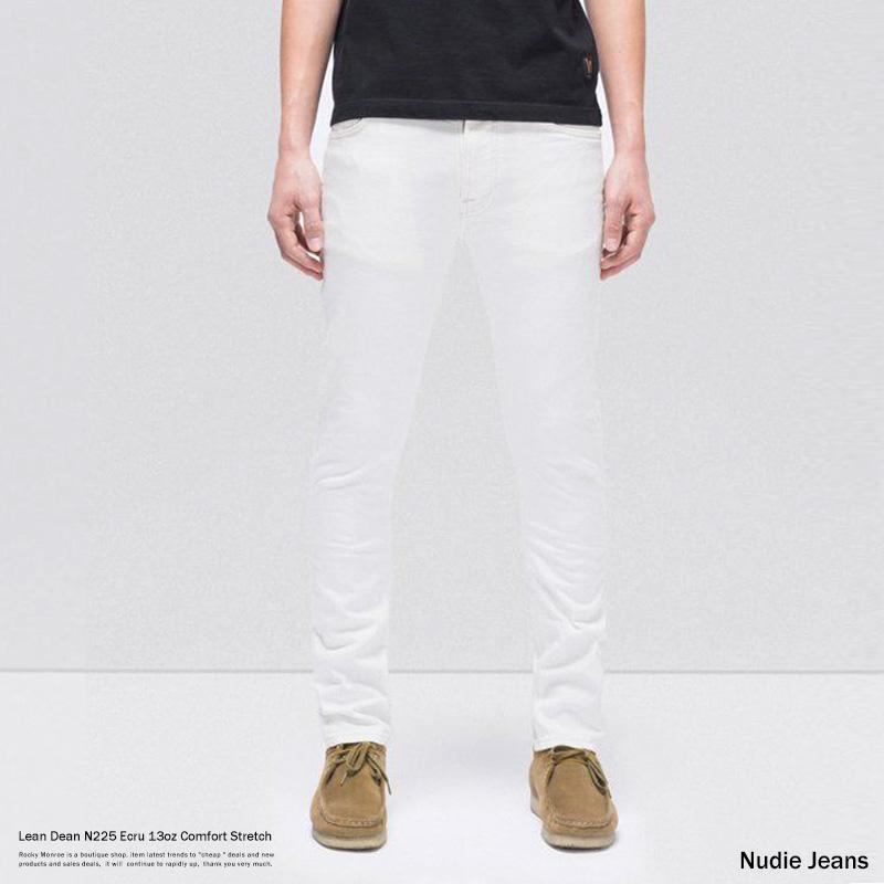 【送料無料】【Nudie Jeans/ヌーディージーンズ】Lean Dean N225 Ecru◆8854