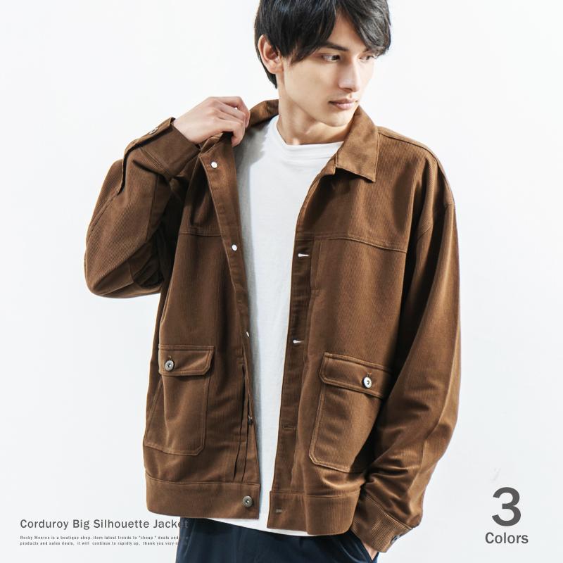 【RD.Ghost/アールディ.ゴースト】コーデュロイビッグGジャン◆8905