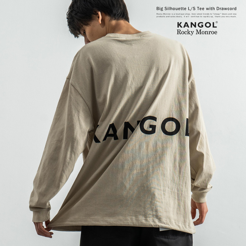 KANGOL×Rocky Monroe別注 裾スピンドル ロンT◆8999