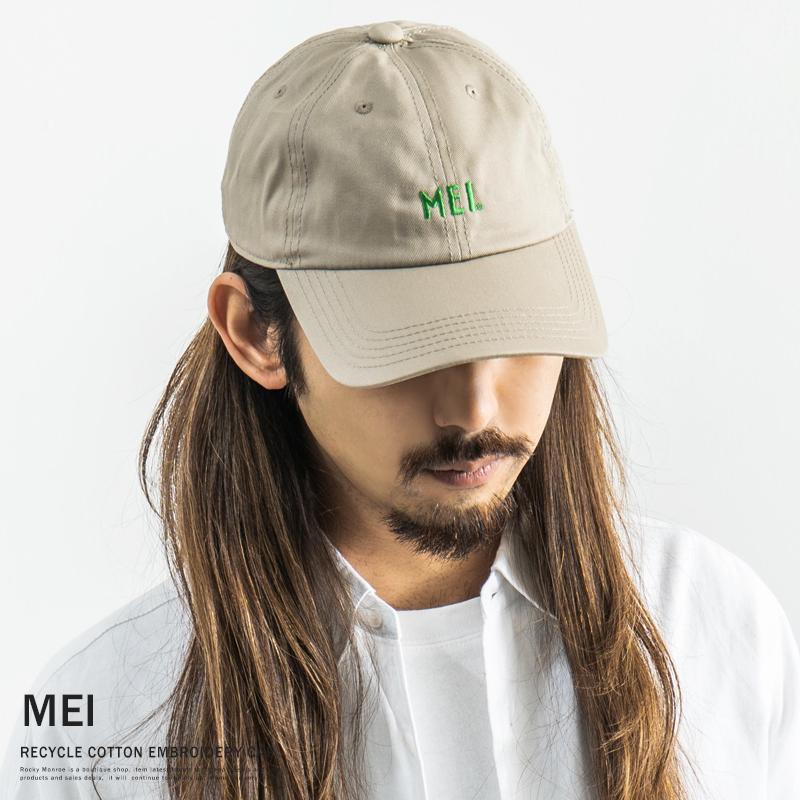 【MEI/メイ】RECYCLE COTTON CAP◆9235