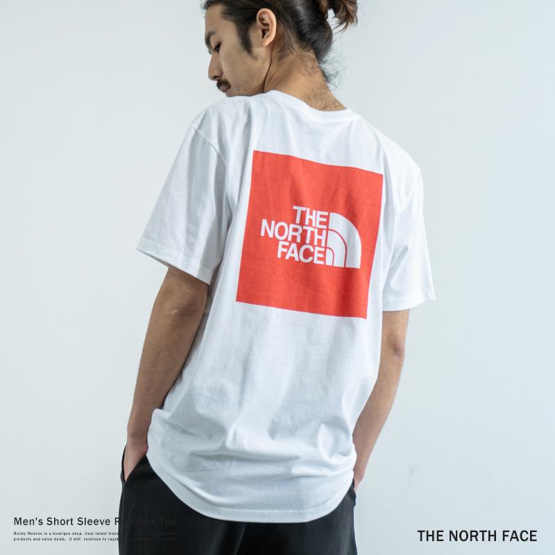 【THE NORTH FACE/ザ・ノースフェイス】 Men's Short Sleeve Red Box Tee◆9306