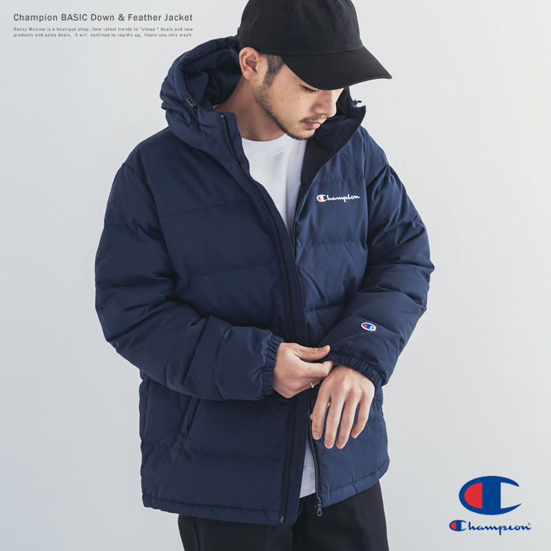 【送料無料】【Champion/チャンピオン】BASIC Down Jacket◆9356