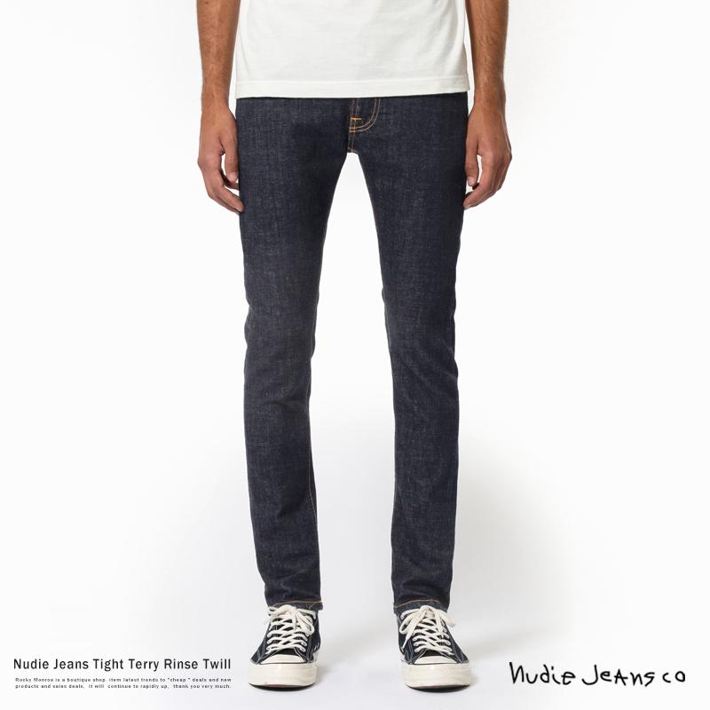 【送料無料】【Nudie Jeans/ヌーディージーンズ】Tight Terry RINSE TWILL◆9430