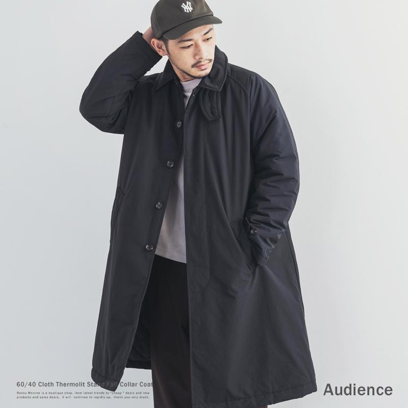 【送料無料】【Audience/オーディエンス】60/40クロスサーモライト中綿ステンカラーコート◆9721