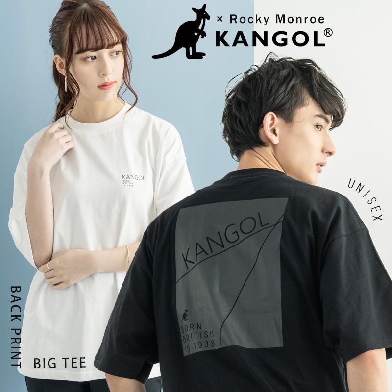 【KANGOL】×【Rocky Monroe】別注 半袖ビッグT【ゆうパケット送料無料】◆9796