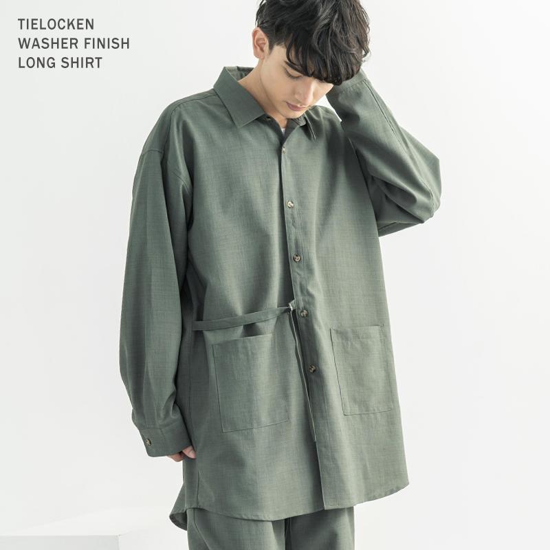タイロッケンロングシャツ◆9915