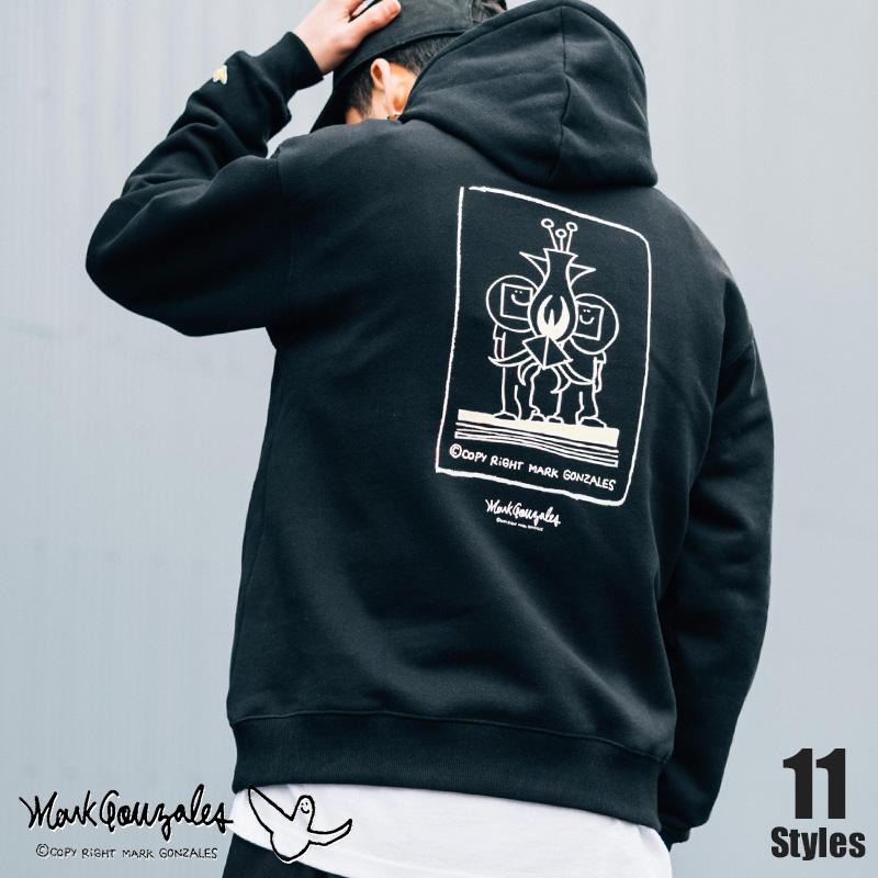 【MARK GONZALES/マークゴンザレス】プリントパーカー◆9925