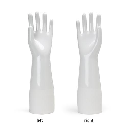 ゴム手袋用のセラミックモールド。