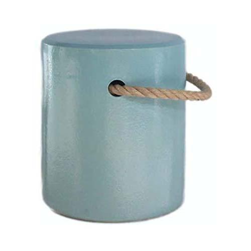 信楽焼の陶器を用いたキッズ用スツール兼サイドテーブル。