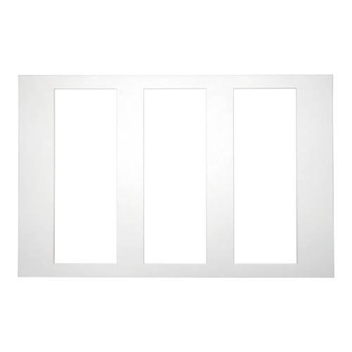 3Pポスター用の3窓マット。