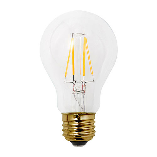 エジソン電球を思わせるクラシックな雰囲気のLED電球。