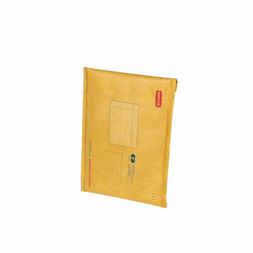 クッション性のある封筒の雰囲気をそのまま残したタブレット・ラップトップバッグ。