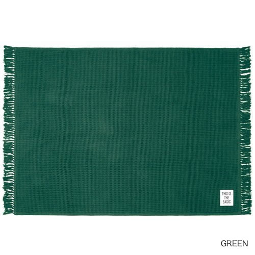 ワッフルの様に織り上げた立体的な仕上がりが特徴的