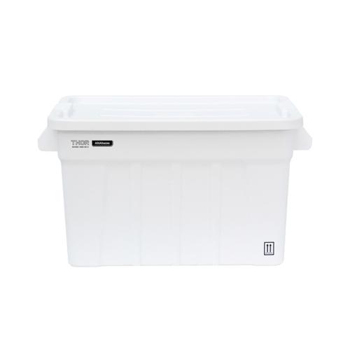 高い耐性を誇る屋内野外で使用可能なハンドル付きトートボックス。