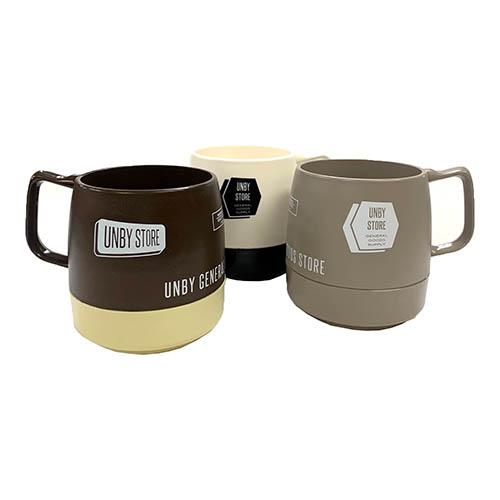 丈夫で壊れにくく機能性に優れたマグカップ。