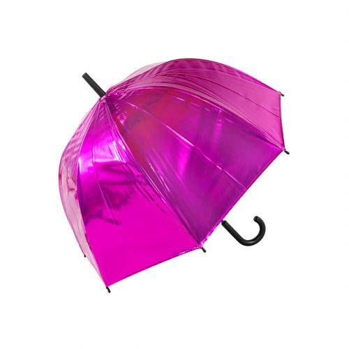 ドーム型となり面積が広い天蓋の傘。メ