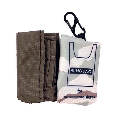 水をはじきやすく、機能的で軽量なリップストップナイロン生地を使用したエコバッグ