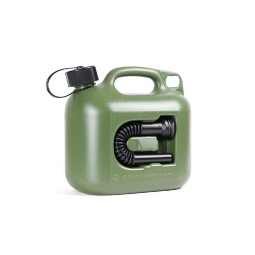 ヒューナースドルフ社の高密度ポリエチレン製燃料キャニスター。