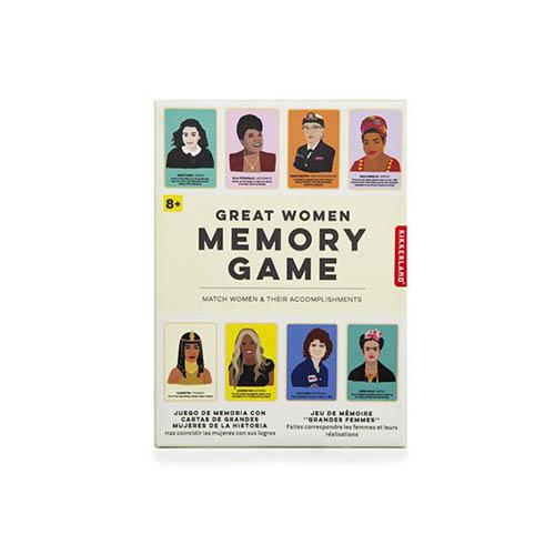時代を超えて活躍したグレートウーマン達の神経衰弱ゲーム。
