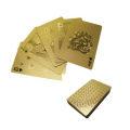 ホログラム調のプリントがほどこされたトランプカード