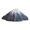 休火山がいつか目覚めるマグマのようなイメージの朱肉がセットされたスタンプパッドです。
