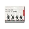 ハンドデザインポインティングブックマーク。4個セット。
