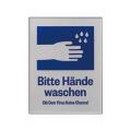 手を洗おうマグネット式サインプレート