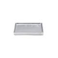 多目的に使用できる、シンプルなアルミニウムトレイ。
