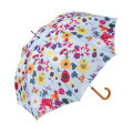 憂鬱な雨の日のお出かけを少し楽しくさせてくれる傘。