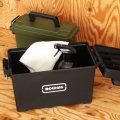 ミリタリーなどで弾薬(AMMO)入れとして使用する為のBOXをプラスチックを使い再現したツールボックス。