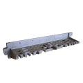 フロントツールハンガー採用で大容量収納可能。