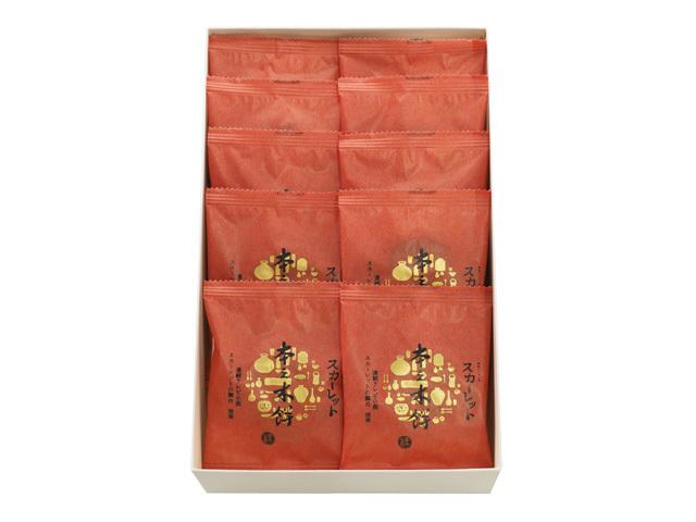 スカーレット本之木餅化粧箱10個入り