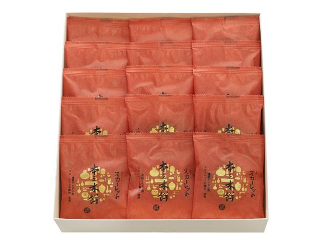 スカーレット本之木餅化粧箱15個入り