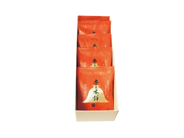 本之木餅5個化粧箱