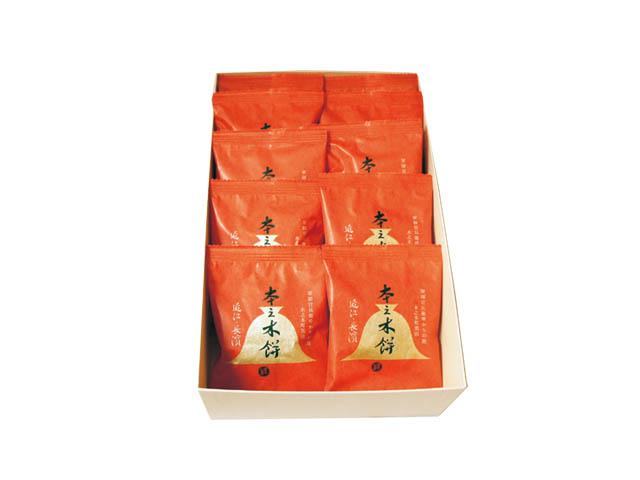 本之木餅10個化粧箱