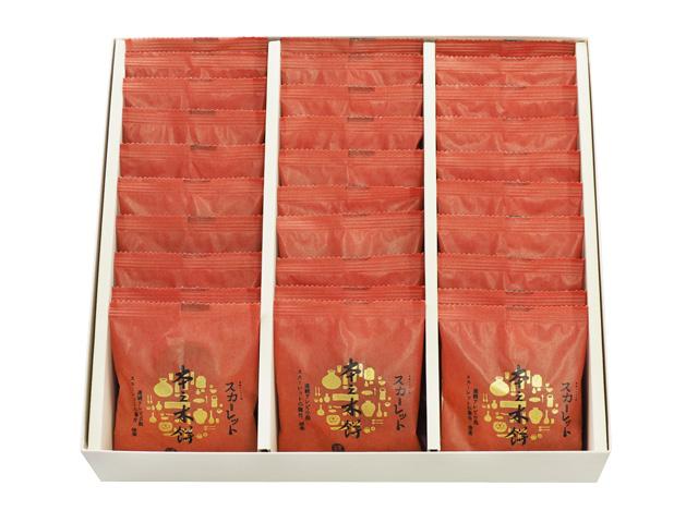 スカーレット本之木餅化粧箱30個入り