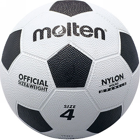 モルテン ゴムサッカーボール4号 F4W