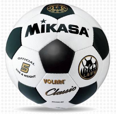 ミカサ サッカーボール SVC550-WBK