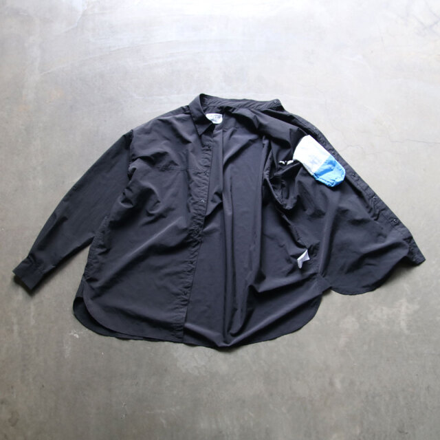 beta post,ベータ ポスト,capsule shirt,パッカブル,セットアップ,撥水,防シワ加工,冷感加工