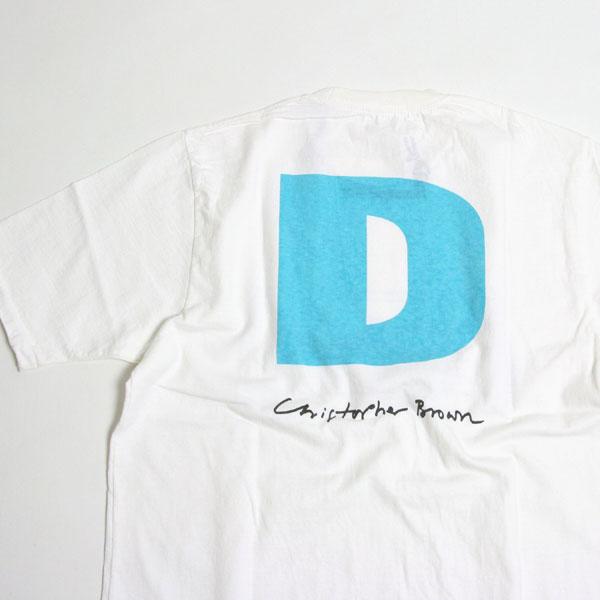 christopher brown,クリストファー ブラウン,tシャツ,プリント t シャツ