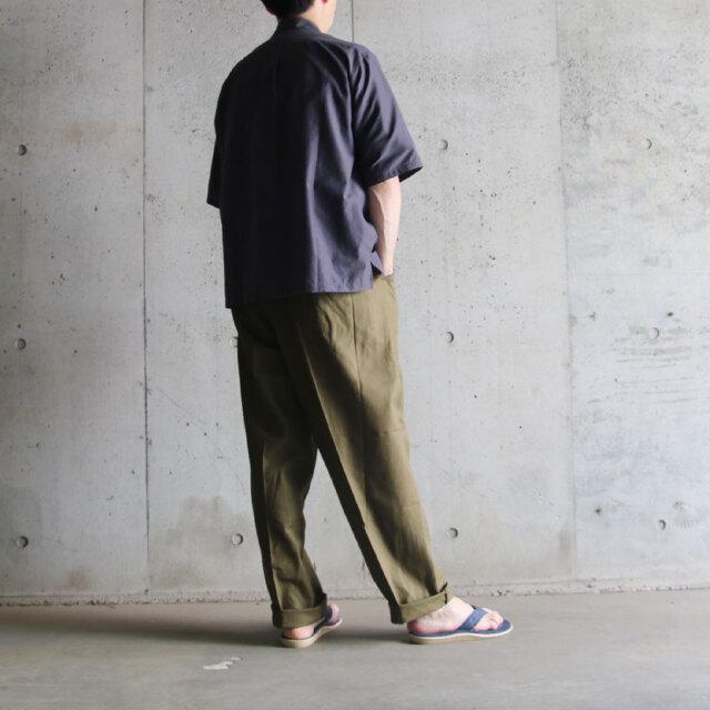 DEAD STOCK,MILITARY,チェコ軍,cook pants,ミリタリーウエア コーディネート,40代ファッション,ユニセックス,ワークパンツ
