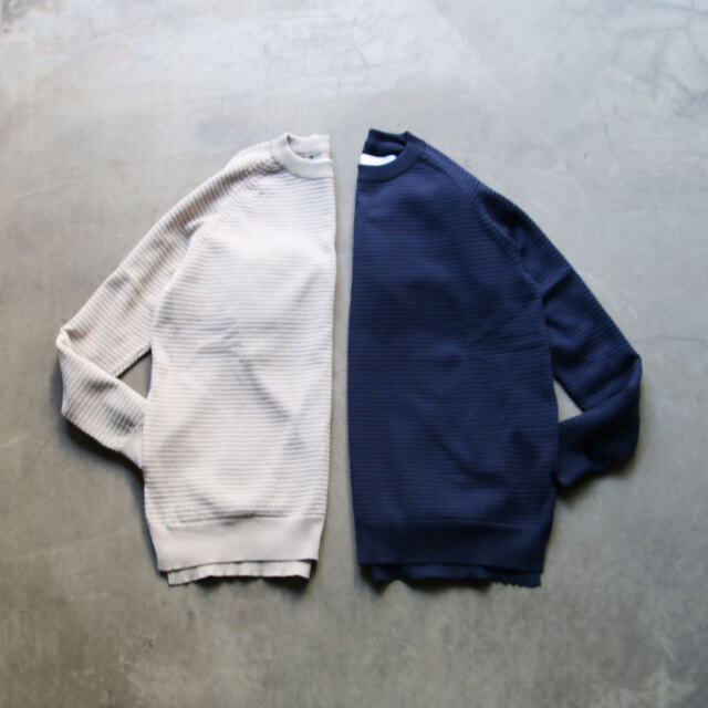 curly,curly cs,curly & co.,カーリー,aztec crew knit