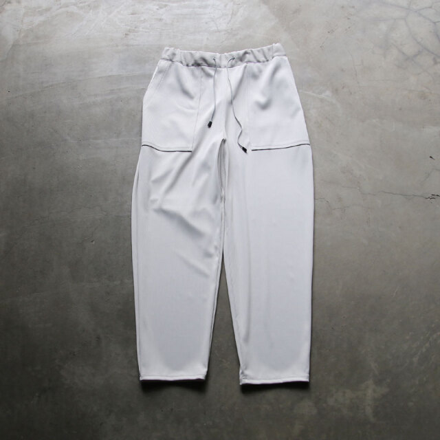 curly,カーリー,211-43031pl,ardwick ez trousers plain,ラッフルジャージーイージーパンツ