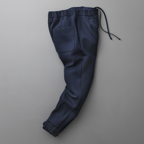 CURLY,BLENDER RIB TROUSERS