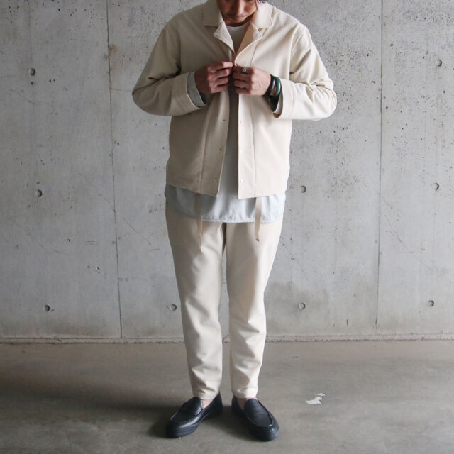 curly,カーリー,CURLY&Co.,clifton mil shircket plain,セットアップ