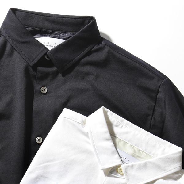 CURLY (カーリー) 161-31031 【CM BRIGHT SHIRTS】 クールマックス ハイゲージハニカムジャガード シャツ (2色)