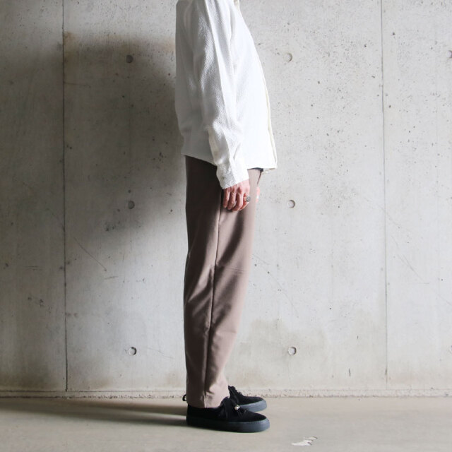 curly,curly cs,カーリー,preston wrap trousers